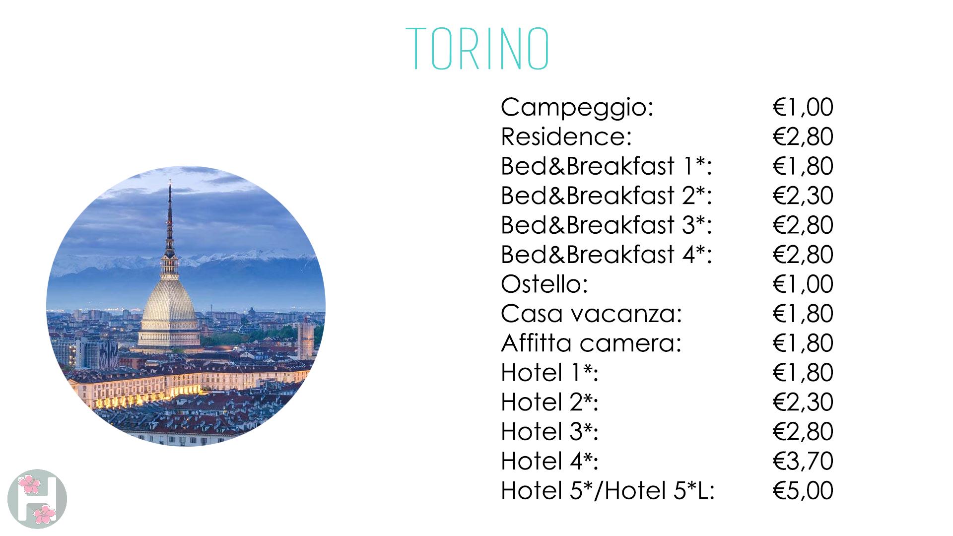 Top Tassa Di Soggiorno A Torino Pictures - Comads897.com ...